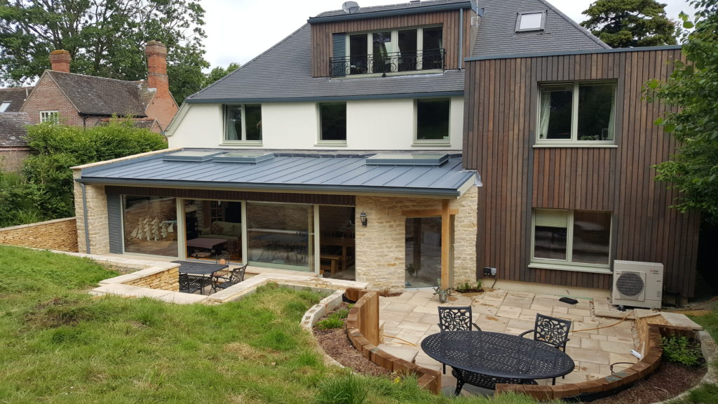 Passivhaus retrofit & extension