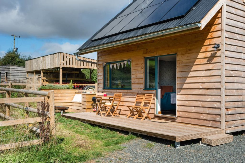 Holiday cabin in Herefordshire